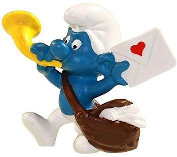 Schlelich - The Smurfs - 1978 - Postman Smurf (Brieftrager) - 1