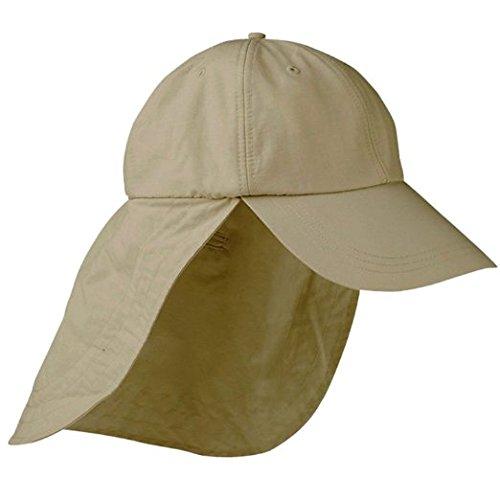 IG Extreme 45+ UV Protection Outdoor Cap with Cape - Stone обогреватель aeroheat ig 3000