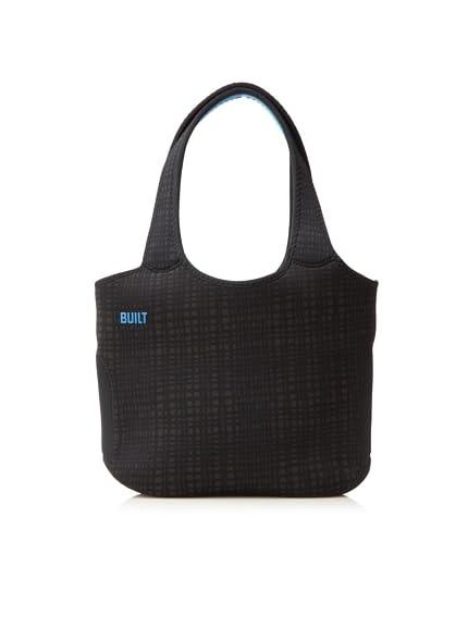 BUILT 13-Inch Laptop Neoprene Tote Bag, Graphite Grid