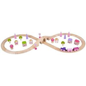Bigjigs Rail BJT022 Fairy Figure of Eight Train Set