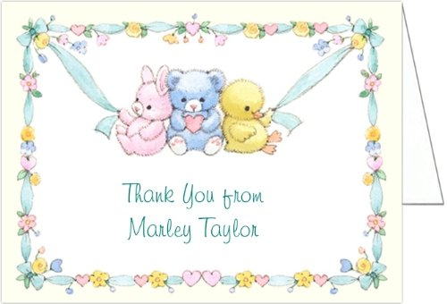 Little Ones Baby Thank You Cards - Set Of 20 front-1017949