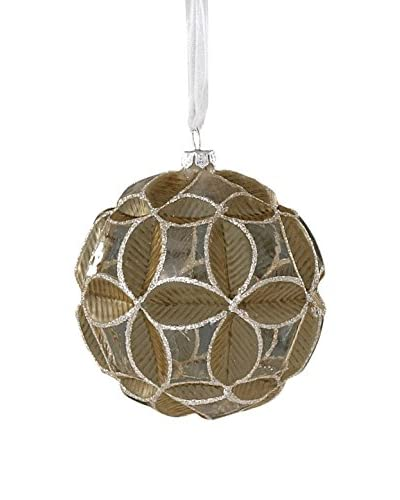 Sage & Co. Geometric Pattern Glass Ball Ornament