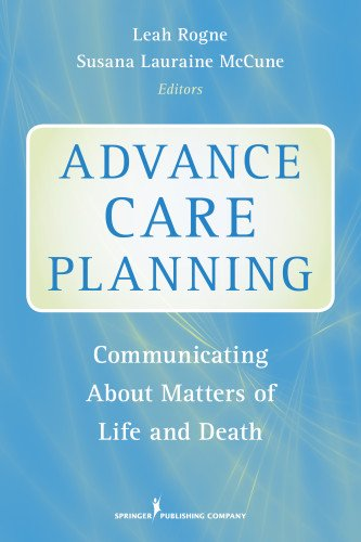 Advance Care Planning: Communicating About Matters Of Life And Death front-819291