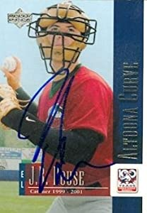 J.R. House Autographed Hand Signed Baseball Card (Minor League) 2001 Upper Deck... by Hall of Fame Memorabilia