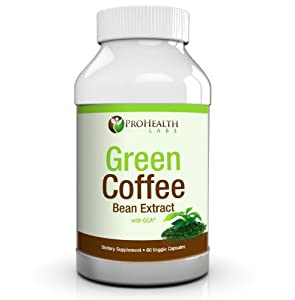Pure Green Coffee Bean Extract 800mg - Diet Supplement Capsules Recommended By Dr Oz To Lose Weight Fast - Boosts Metabolism To Burn Fat Quickly In Women Men - Highest Quality And Max Strength Chlorogenic Acid - 100 Satisfaction Or Money Back by ProHealth