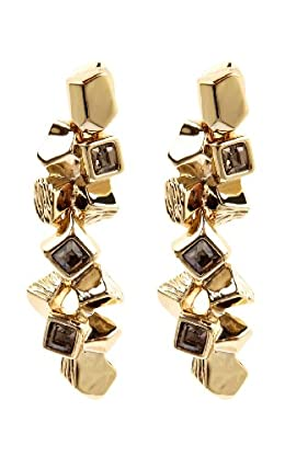 Cube cluster earring