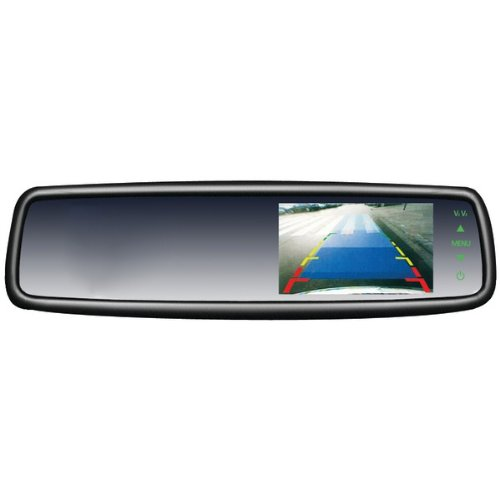 Crimestopper Sv-9153 4.3Inin Oem Replacement-Style Rearview Mirror Monitor