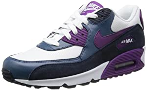 Nike Air Max 90 Essential Women Schuhe white-bright grape-obsidian-new slate - 39