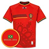 Belgien Home Trikot 2014 2015 Ink Gratis Brasilien Druck