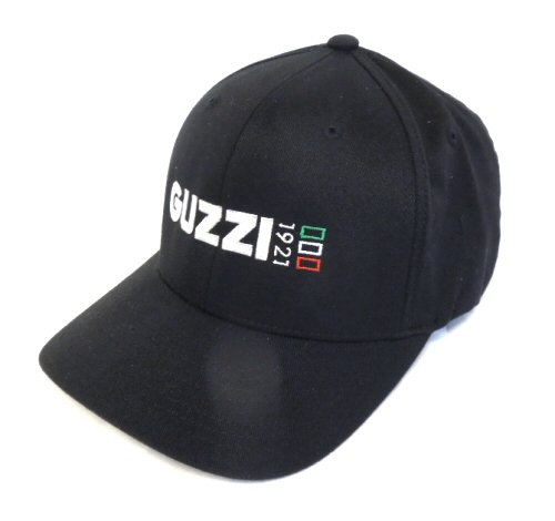 *BLACK* Moto Guzzi Iconic 1921 Logo Hat LARGE (Moto Guzzi Parts compare prices)