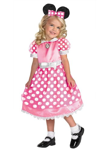 Toddler / Child Deluxe Pink Minnie Mouse Costume