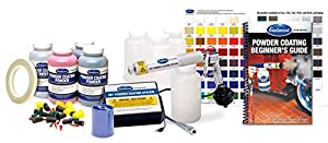 Eastwood Hotcoat Powder Coating System Kit with Powders & Accessories