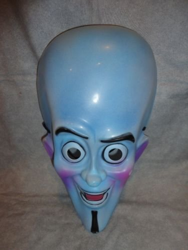 [MEGAMIND HALLOWEEN PVC MASK CHILD SIZE MASK] (Baby Megamind Costume)