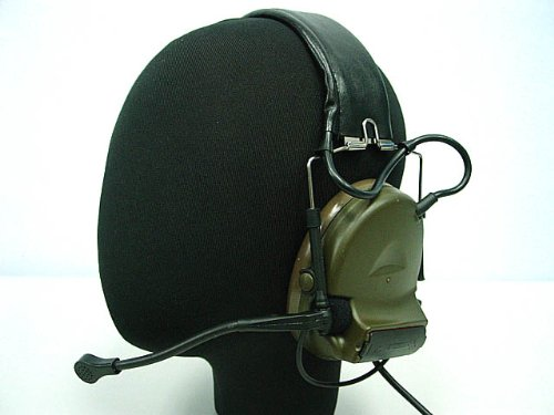Airsoft Element Comtac Ii Style Tactical Headset Od