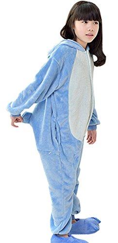 GILLBRO caldo anime costume pigiama bambini cosplay Onesies pigiama, colore: blu T 95 cm