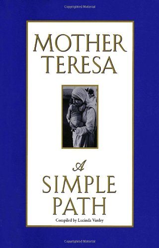 Simple Book Cover Quote ~ Book of mother teresa quotes quotesgram