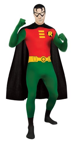 Robin 2ND Skin Adult Costume Robin Costume Justice League Costume 880561