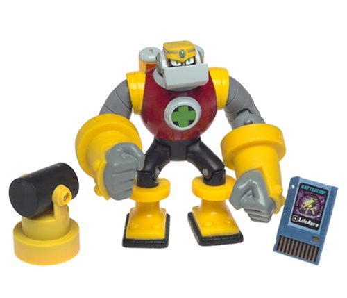 Buy Low Price Mattel Mega Man NT Warrior Guts Man Figure (B0002D0FO6)