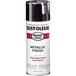 Rust-Oleum 7718830 STOPS RUST Bright Coat Spray Paint, Chrome