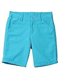 Beebay Turn-up Shorts (B0515122702016_Turq_10Y)