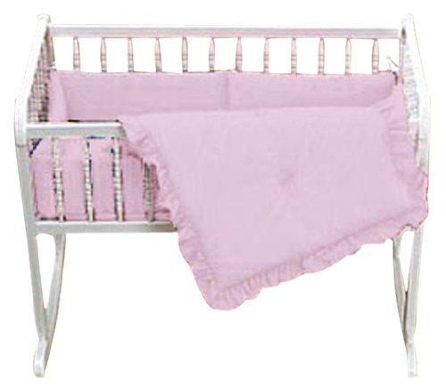 Imagen de Baby Doll Bedding Set Cuna Solid, Rosa
