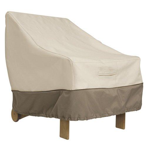 Classic Accessories Veranda Patio Chair Cover 78912, Standard, Pebble