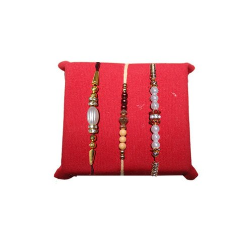 handicrunch-rakhi-set-with-haldirams-rasgulla-white-pearl-designer-rakhis-set-of-3