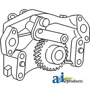 Amazon.com: A & I Products Pump, Oil Replacement for Ford - New