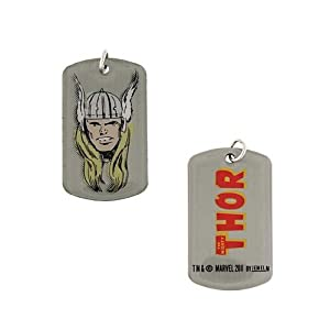 The Mighty Thor Double Sided Dog Tag Marvel Comics