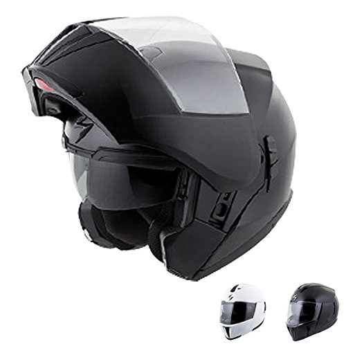 Scorpion EXO-900X TransFormerHelmet 3-In-1 Street Motorcycle Helmet (Matte Black, Small)