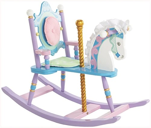 Levels of Discovery Kiddie-Ups Carousel Rocking Horse - 1
