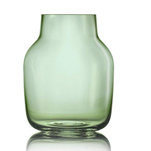 Muuto Silent Vase, grün Größe 2: Ø15cm