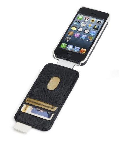 Kensington-Portafolio-Flip-Wallet-Case-for-iPhone-5-1-Pack-Carrying-Case