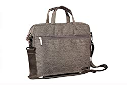 Neopack Canvas Pro 13 inch Laptop Bag - Grey (HP, Apple Macbook, Sony, Samsung, Lenovo, IBM, Asus, Toshiba, Compaq, Acer)