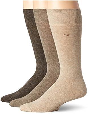 Calvin Klein Men's Combed Flat-Knit Socks (3-Pack)