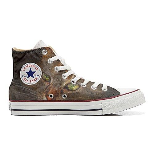 Scarpe Converse All Star personalizzate (scarpe artigianali) Lince - TG46