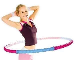 Hoopomania Cerceau Body Hoop avec 77 picots de massage 0,95kg
