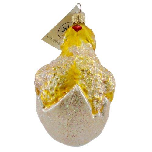 Radko SPRING DEBUT 971920 Ornament Easter Egg Chick New