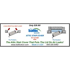 Attic Stair Covers Save Energy