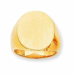 14k Men's Signet Ring