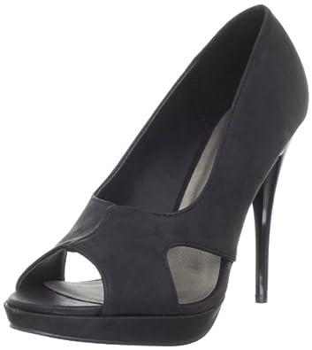 Michael Antonio Women's Myrtle Platform Sandal,Black,7.5 M US