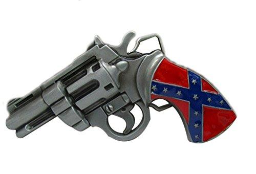 UUC Flag pistol Solid Metal Cool Belt Buckle
