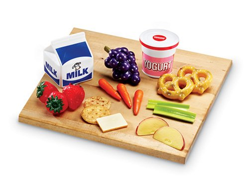 Learning Resources Pretend and Play Healthy Food Snacks Set