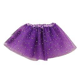 Rosennie Baby Kids Girls Tutu Skirts Princess Sequins Party Ballet Dress