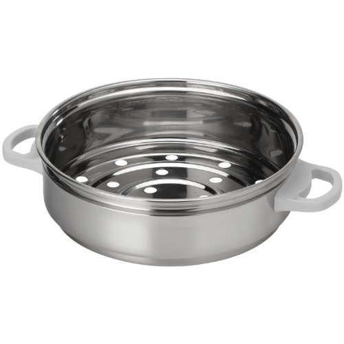 AROMA RS-07 14-Cup Simply Stainless Steamer for Cookware