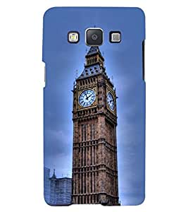 Printvisa Premium Back Cover Big Ben Clock In London Design For Samsung Galaxy A3::Samsung Galaxy A3 A300F