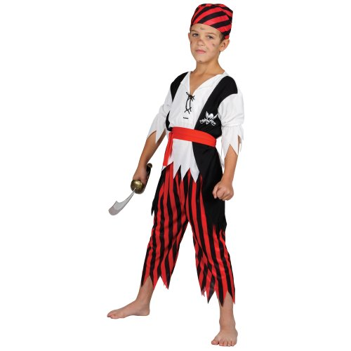Shipwreck Pirate - Kids Costume 3 - 4 years
