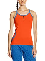 Wildcountry Top Liberty Vest Wms (Naranja Oscuro)