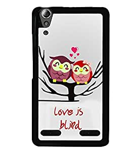 printtech Love Is Blind Back Case Cover for Huawei Honor 6x