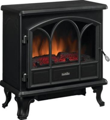 Duraflame Capacious Stove Heater, Black, DFS-750-1